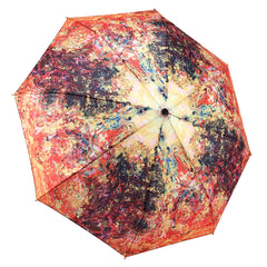 Monet, The Artist's House from the Rose Garden Folding Umbrella