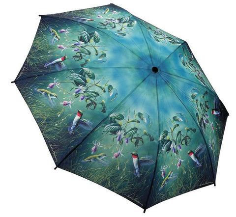 Picture of Humming Birds Folding Umbrella