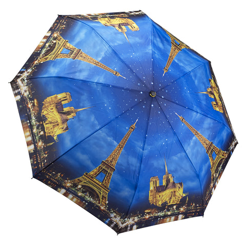 Picture of Galleria Paris-City of Lights Folding Umbrella