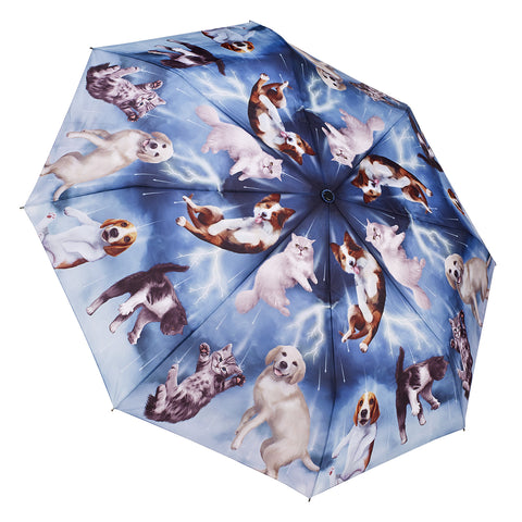 Picture of Raining Cats & Dogs Folding Umbrella