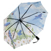 Blue Birds Folding Umbrella
