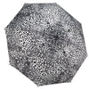 Leopard Skin Black & White RC Folding Umbrella