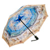 Beach Scene Reverse Close Folding Umbrella