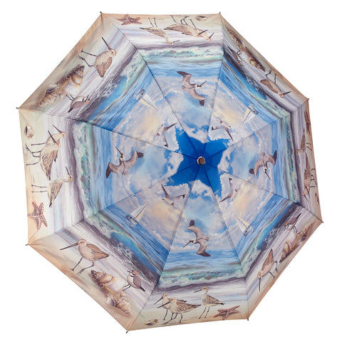 Picture of Beach Scene Folding Umbrella