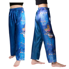 Laurel Burch Indigo Cats Pajama Pants