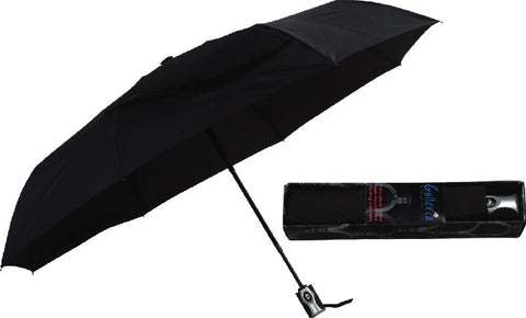 Picture of Folding AO/AC Black-3 Section Folding Umbrella