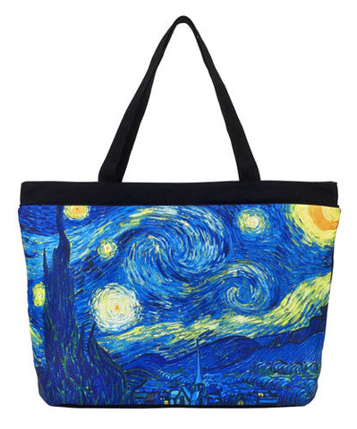 Picture of Van Gogh Starry Night Tote Bag
