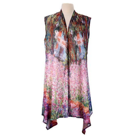 Picture of Monet Garden Sheer Long Vest