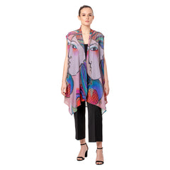 Laurel Burch Mikayla Sheer Vests