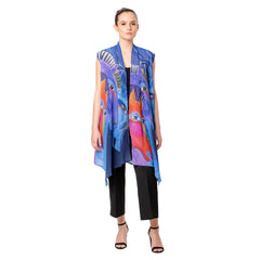 Laurel Burch Wild Horses Sheer Vests