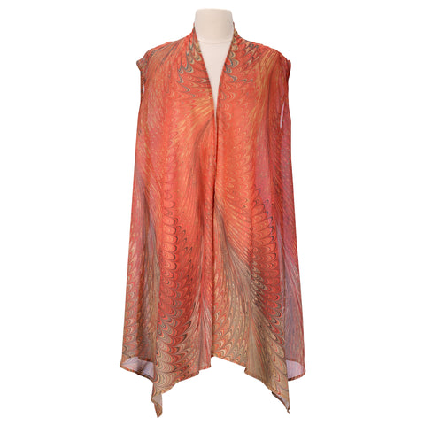 Picture of Dahlia Sheer Long Vest