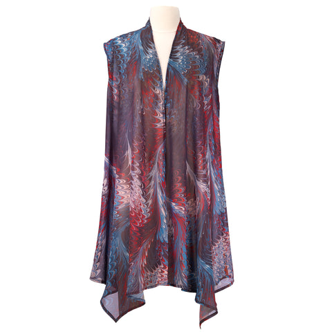 Picture of Hollyhill Sheer Long Vest