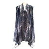 Salt & Peppa Sheer Long Vest
