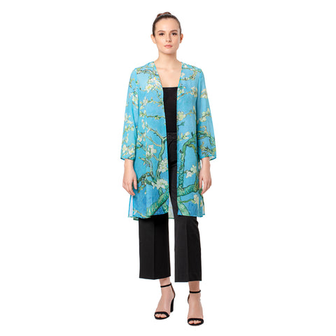 Picture of Monet Almond Blossom Sheer Cardigan