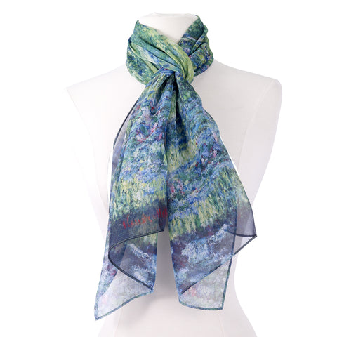 Picture of Monet Japanese Bridge Scarf