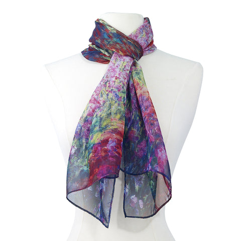 Picture of Monet Garden Scarf