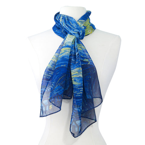 Picture of Van Gogh Starry Night Scarf