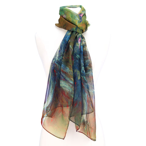 Picture of Irises by Monet Scarf