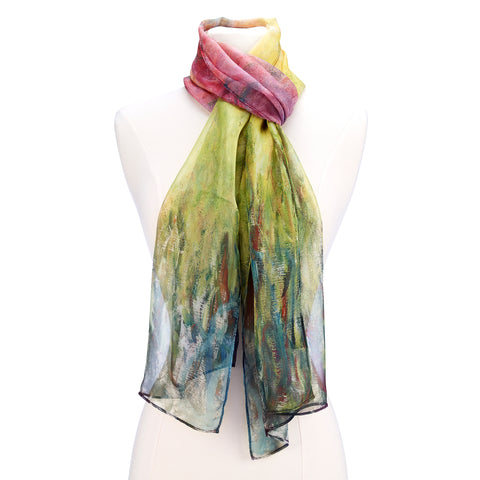 Picture of Waterlilies at Sunset Scarf