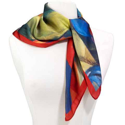 Picture of Franz Marc, Stables Sq Scarf