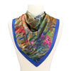 Irises by Monet Satin Chiffon Scarf