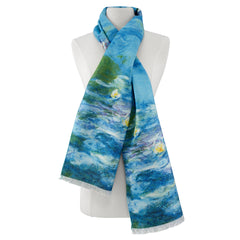 Monet Waterlilies Viscose\Poly Scarf