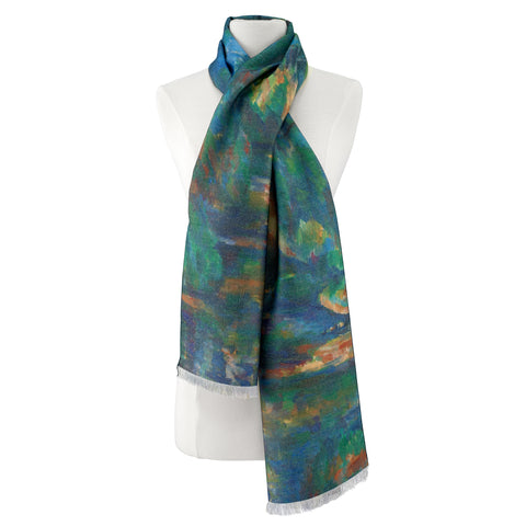 Picture of Paul Cezanne, The Brook Viscose\Poly Scarf