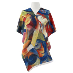 Franz Marc, Stables Viscose\Poly Scarf