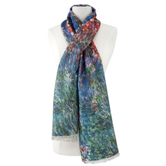 House at Giverny Under Roses Viscose\Poly Scarf
