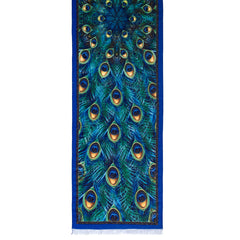 Peacock Viscose\Poly Scarf