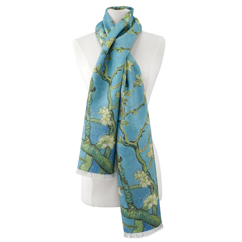 Picture of Van Gogh Almond Blossom Scarf Viscose\Poly Scarf