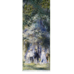 Renoir In the Park at Saint Cloud Viscose\Poly Scarf