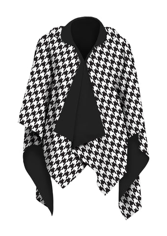 Picture of Houndstooth RainCape
