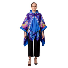 Laurel Burch Indigo Cats RainCape