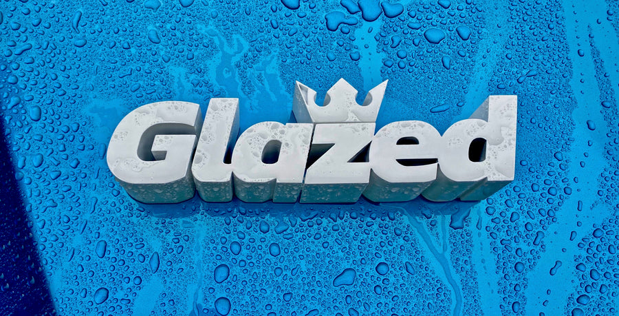 Glazed Car Care and detailing products
