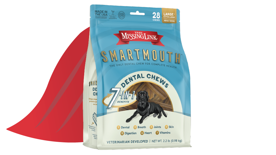 Smartmouth packaging with cape
