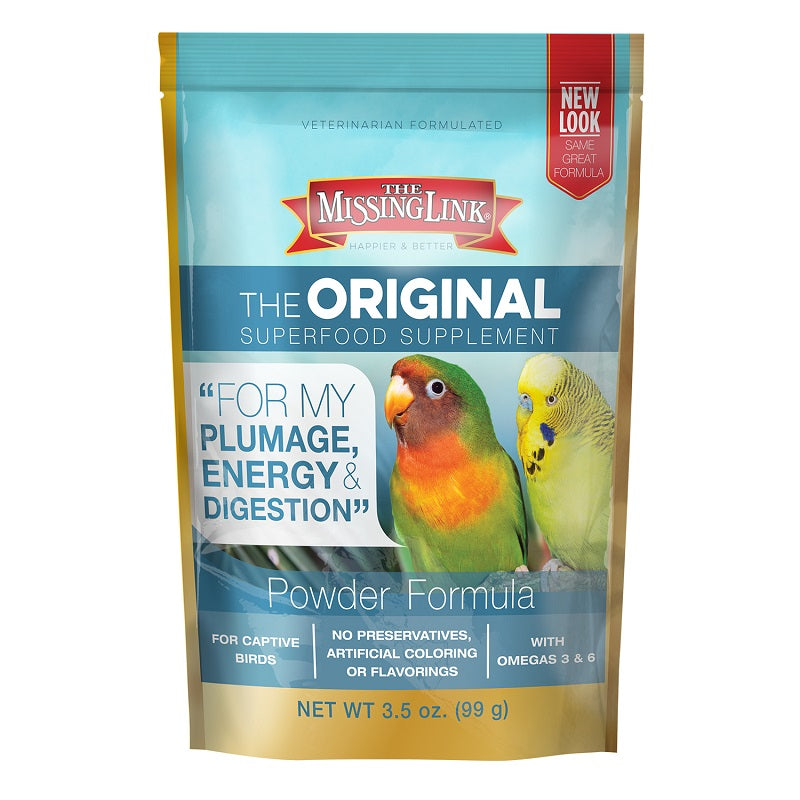 Avian or Parrot Supplement Powder Bag
