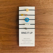 Load image into Gallery viewer, Lilla Rings - Mini Elastics