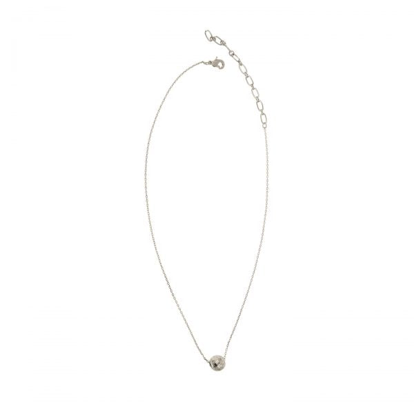 Silver Chain with Single Ball Necklace