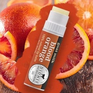 Blood Orange Goat Milk Lip Balm
