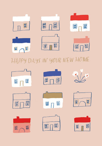 Happy Days New Home Card