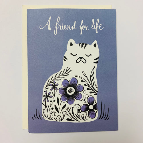 Friend For Life Card