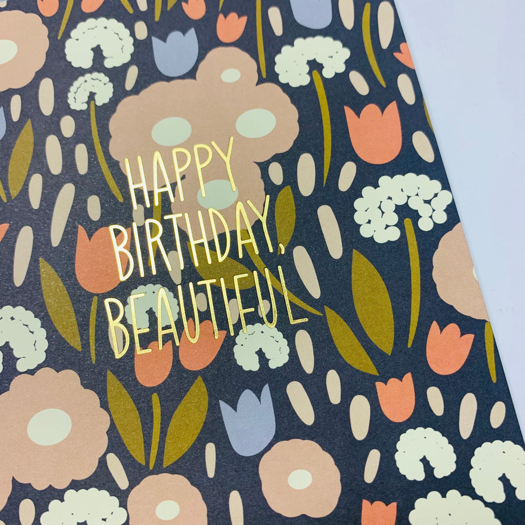 Happy Birthday Beautiful Card