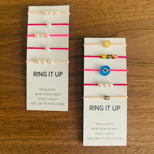 Lilla Rings - Mini Elastics