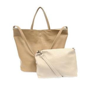 Riley Reversible Slouchy Hobo Tote