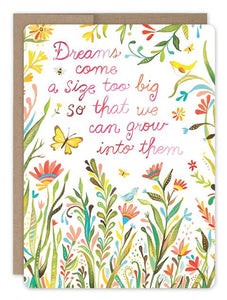 Big Dreams Card