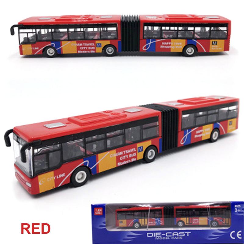 Kids Toy Multicolor Indoor Collection Alloy Bus Interesting Desk Alloy Car - honeylives