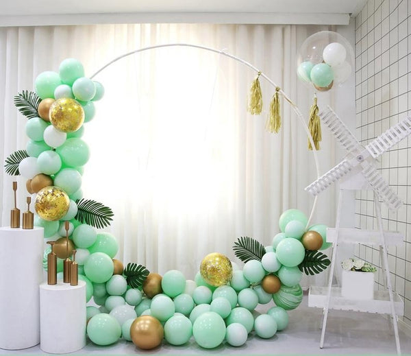 Pastel Balloon Garland Arch Kit Latex Balloon Party Decoration for Wedding Birthday 119 Pcs - honeylives