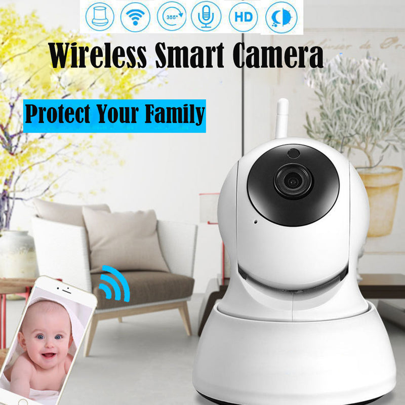 HD Mini Wireless Wifi Night Vision Sucurity Surveillance Smart Camera - honeylives