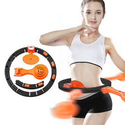 Weight Loss Fitness Sports Smart Count Heavier Adjustable Gymnastic Hoop Gym - honeylives